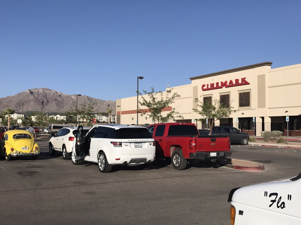 Cinemark USA: 7440 Remcon Cir, El Paso, TX