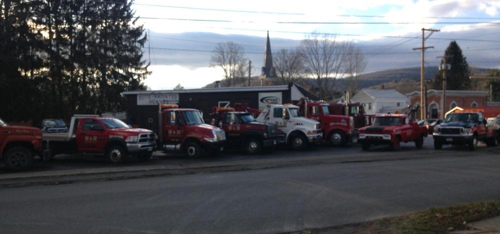 Towing business in Susquehanna, PA