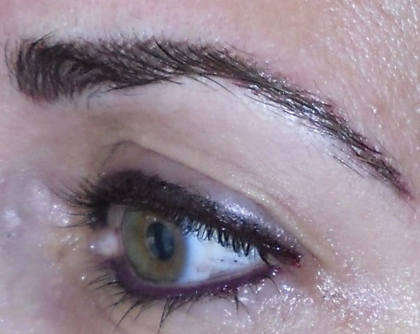Bold stacked eyeliner on top mucosal on bottom and for Tattoo eyeliner bottom lid