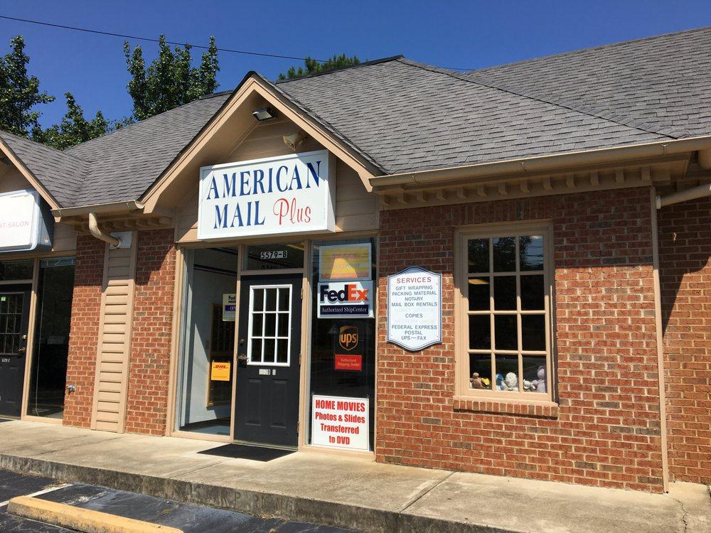 American Mail Plus: 5579 Chamblee Dunwoody Rd, Atlanta, GA
