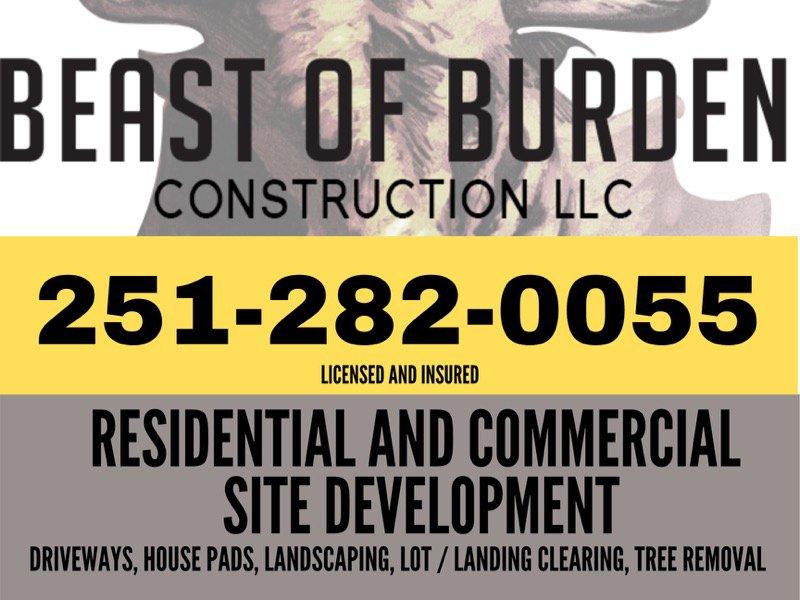 Beast of Burden Construction: Wilmer, AL
