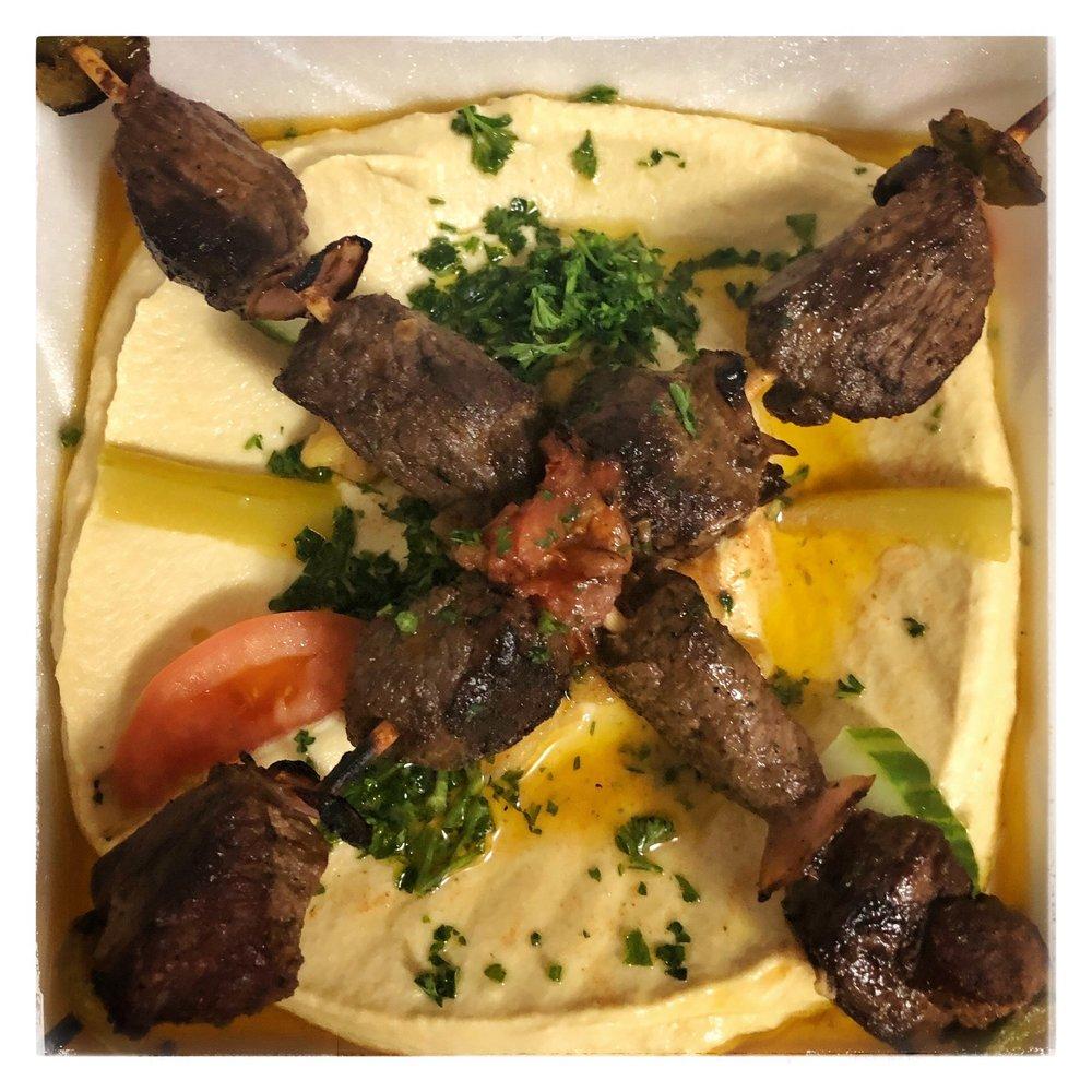 Food from Almadina restaurant