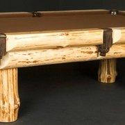 Log Poker Photo Of Viking Log Furniture   Saint Joseph, MN, United States.