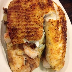 Photo Of Bill S Seafood House Yorktown Va United States Broiled Stuffed Fish