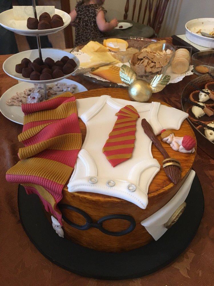 Custom Harry Potter Baby Shower Cake Yelp