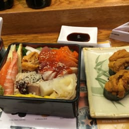 New City Sushi - New City, NY, United States. It's a big lunch