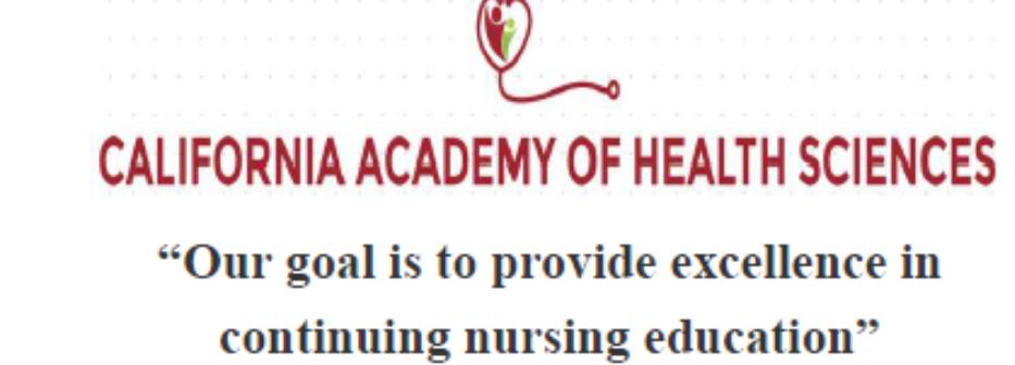 California Academy of Health Sciences: 337 N Vineyard Ave 4th, Ontario, CA