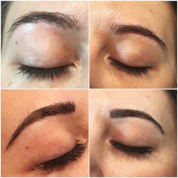 ea7dfe06e89 Photo of Winks Eyelash Boutique - Toronto, ON, Canada. Before & After Brow