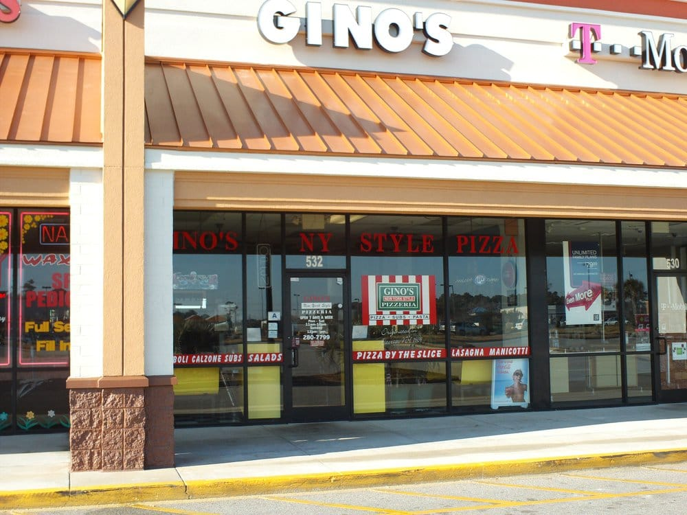 Gino S Ny Pizza Myrtle Beach