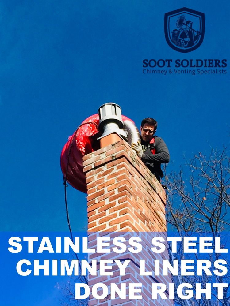 Soot Soldiers Chimney & Venting Specialists: Blakely, PA
