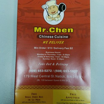 Chinese Food Natick Ma Delivery