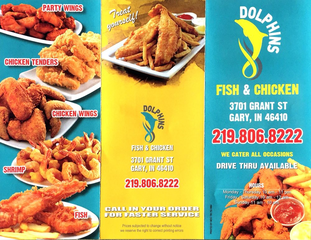 Photos for dolphins fish chicken yelp for Fishers chicken and fish