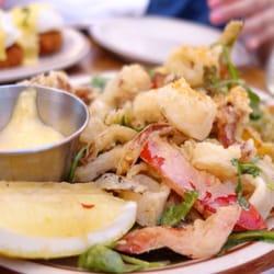 Photo of The Beehive - Boston, MA, United States. Yummy calamari
