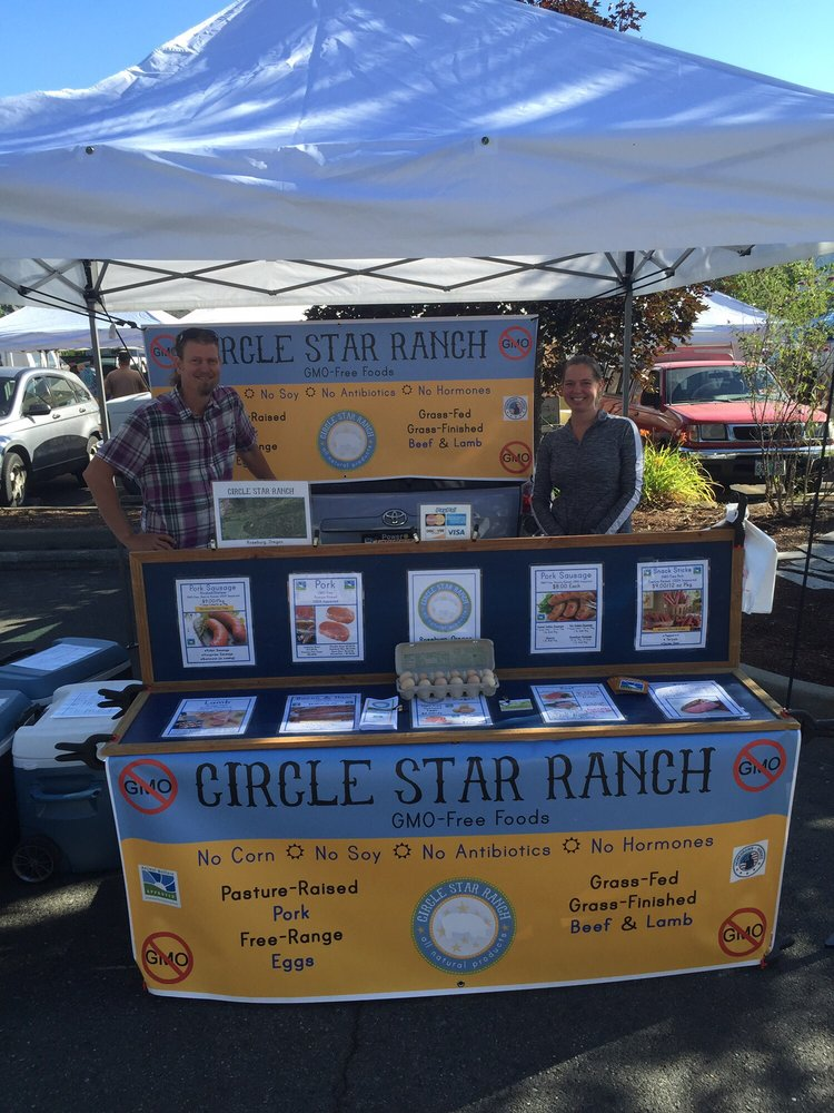Saturday Grower's Market: 4th & F St, Grants Pass, OR