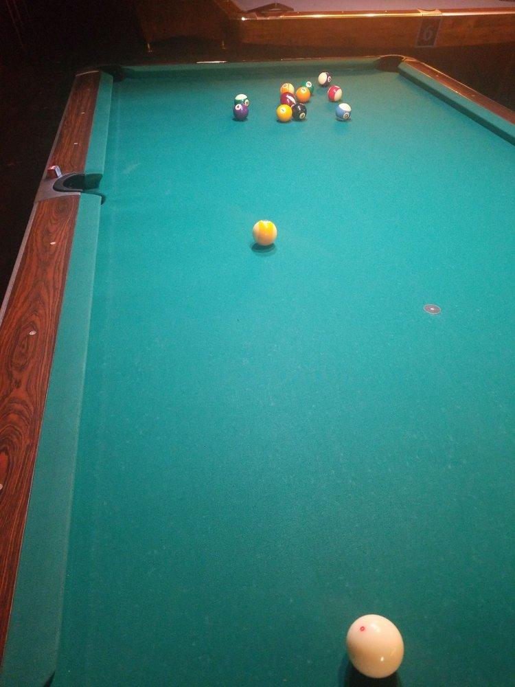 Dawn allison pool table