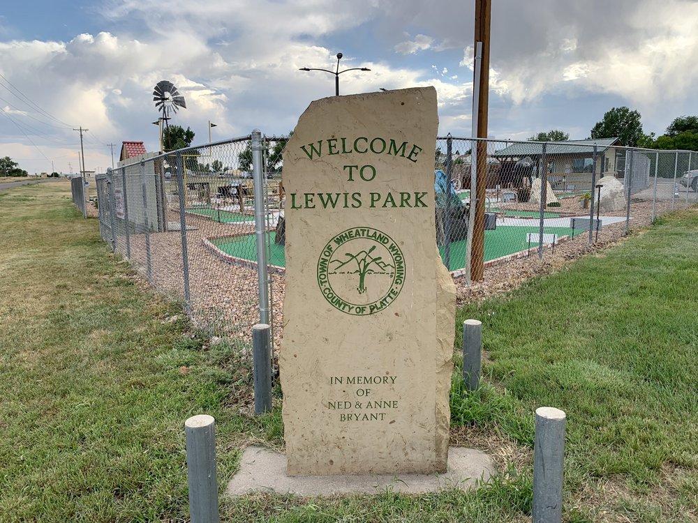 Lewis Park: 306 8th St, Wheatland, WY