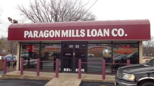 Paragon Mills Loan Co, Inc store photo