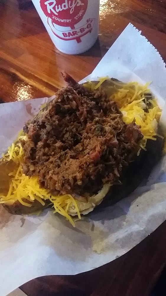 Loaded Potato With Spicy Chop Yelp