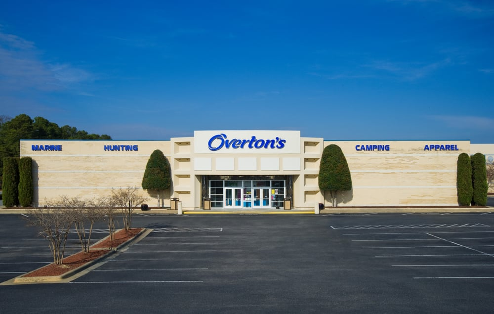 Overton's Sports Center: 111 Red Banks Rd, Greenville, NC