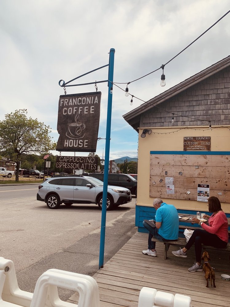 Backpack Cafe: 334 Main St, Franconia, NH