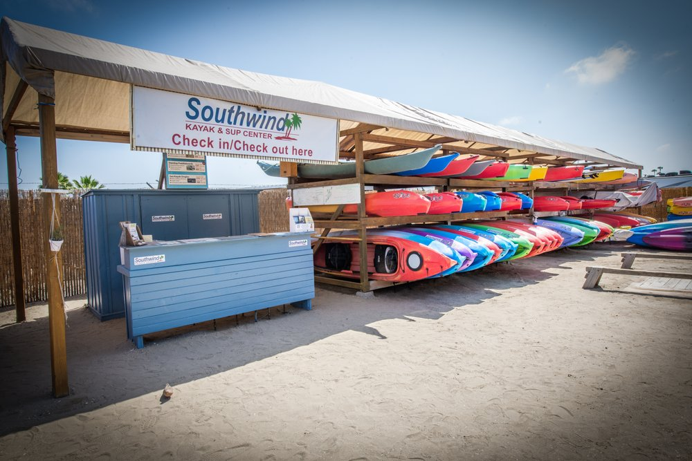 Southwind Kayak Center Rental Base