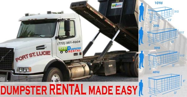 Exceptional Photo Of Port St. Lucie Easy Dumpster Rental   Port Saint Lucie, FL,
