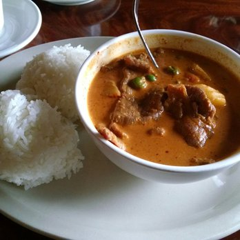 Photo Of Bangkok Garden   Sacramento, CA, United States. Penang Curry Beef
