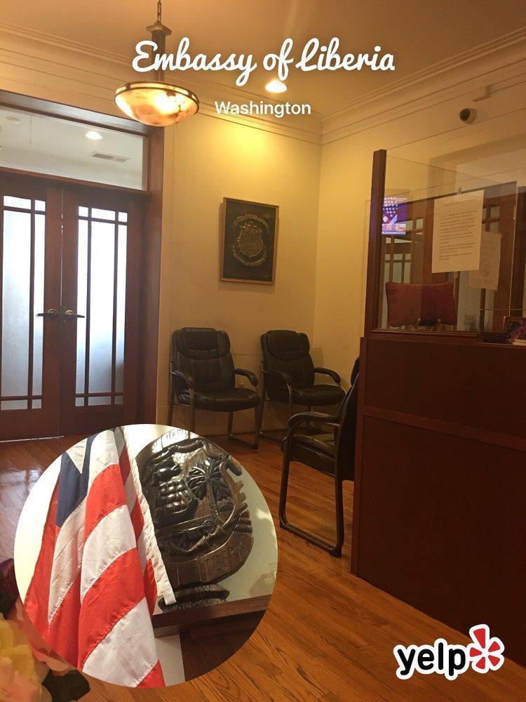 Image result for liberia embassy washington