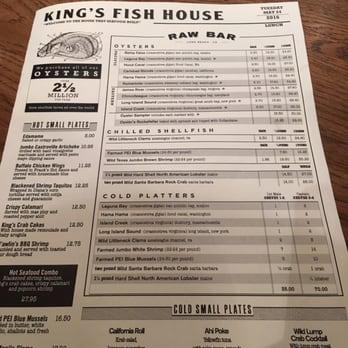 S n 39 s reviews gardena yelp for Kings fish house menu
