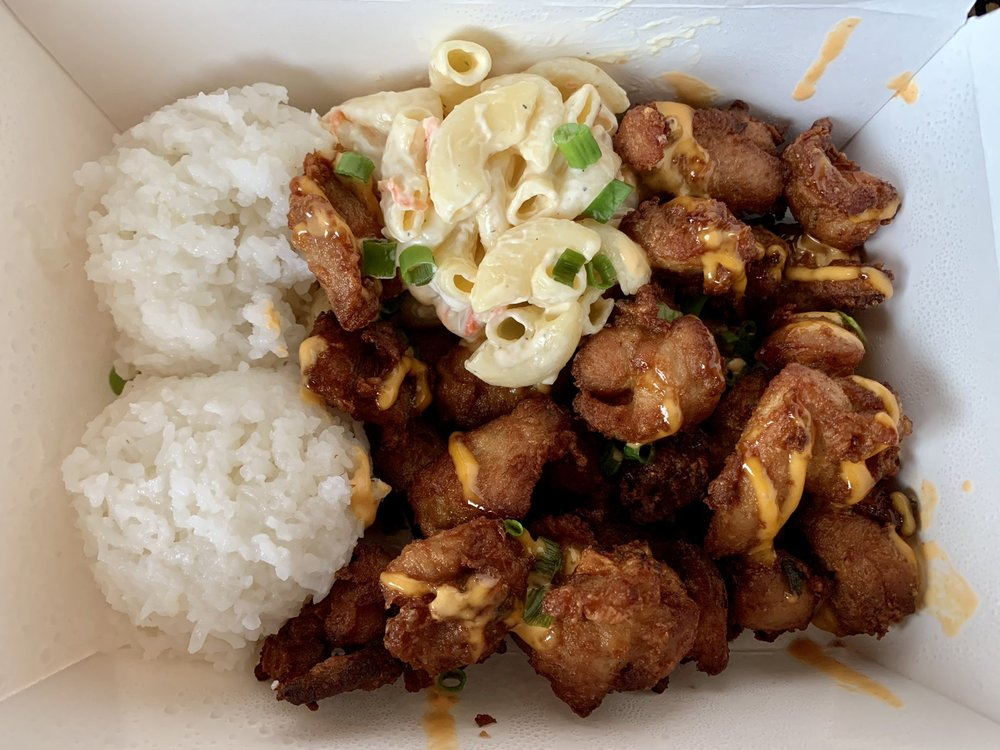 Food from Pono Plates