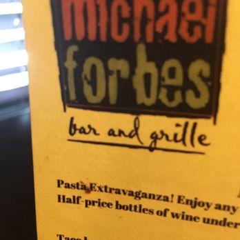 Michael Forbes Restaurant Week Menu