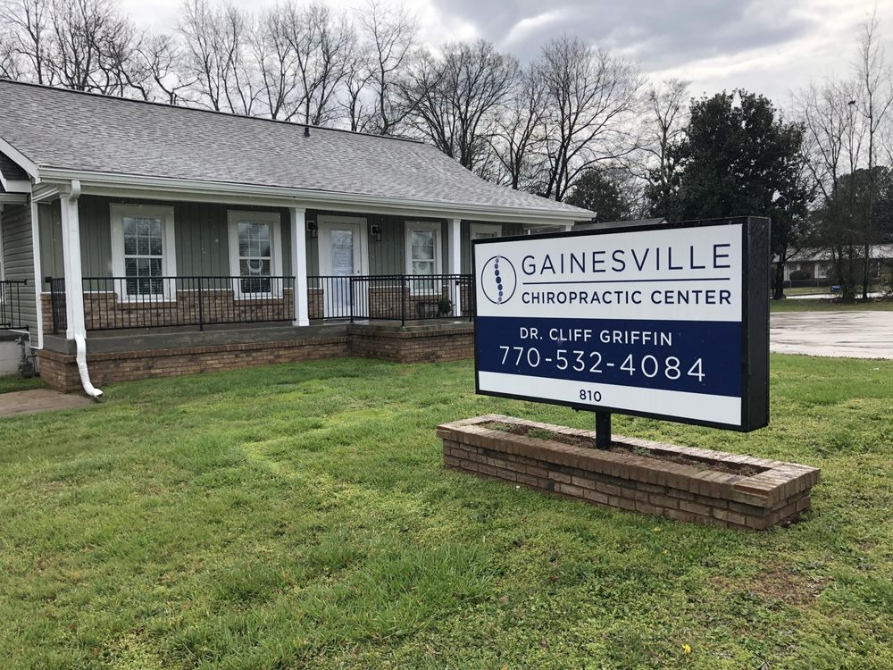 Gainesville Chiropractic Center- Dr. Cliff Griffin: 810 Jesse Jewell Pkwy SE, Gainesville, GA