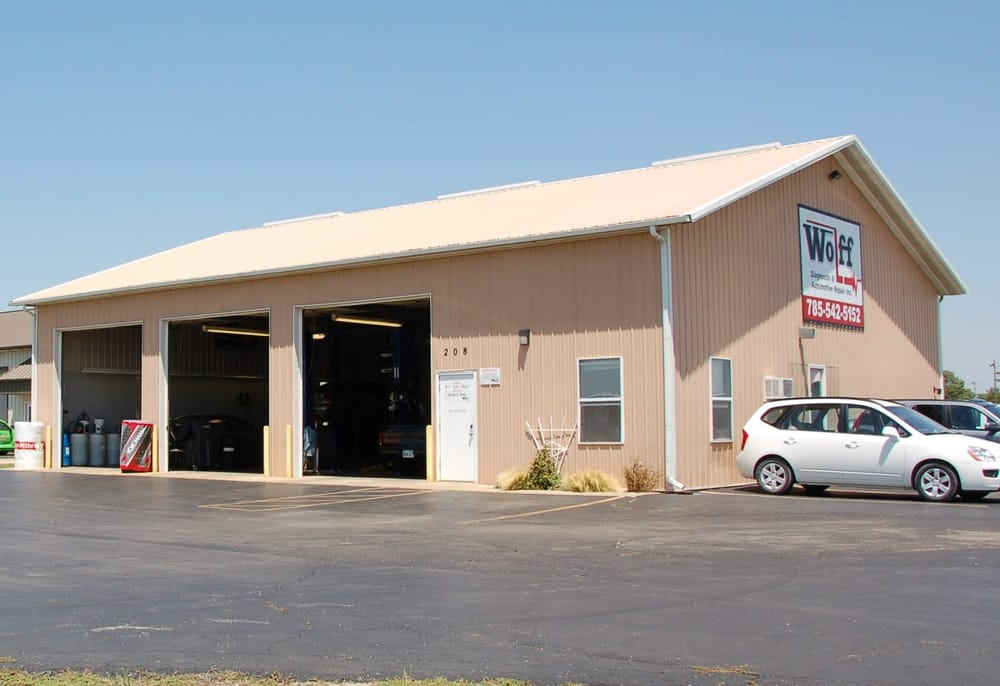 Wolff Diagnostic & Automotive Repair: 208 E 20th St, Eudora, KS