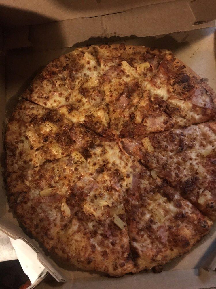 Domino's pizza: 108 S Main St, Houston, PA