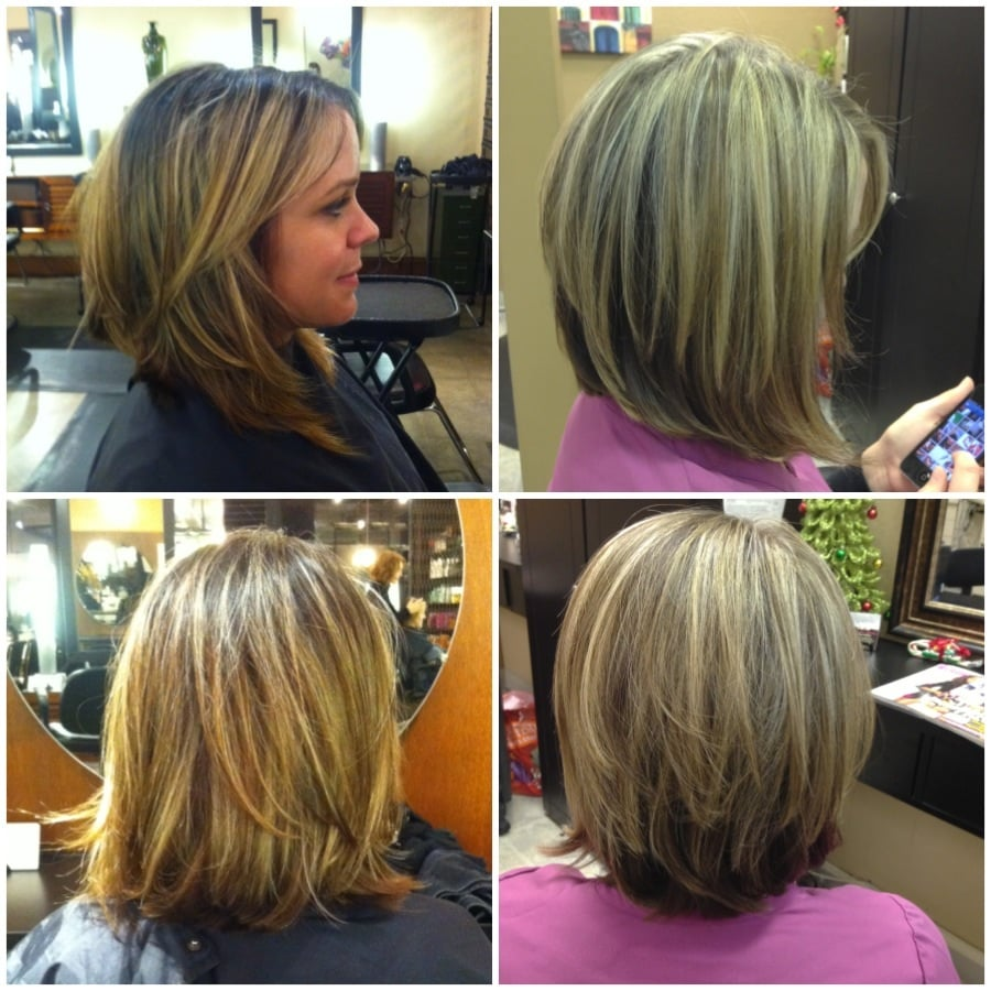 Before Amp After Cut And Color Correction  Yelp