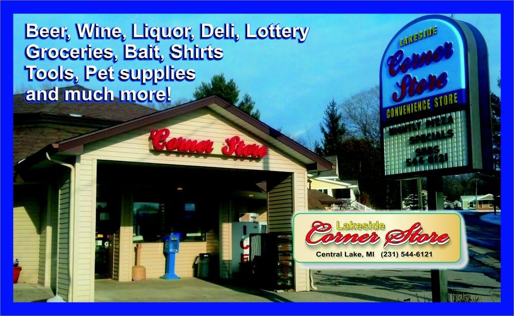 Corner Store-Lakeside: 2410 Rushton Rd, Central Lake, MI