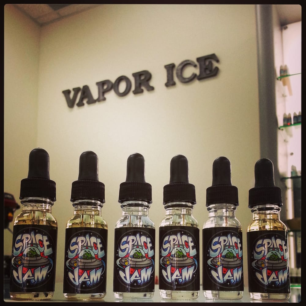 Space Jam Juice has landed at Vapor ICE! Swing by to try out