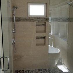 Kitchen Back Splash Photo Of Rtk Tile Specialties Portland Or United States Pebble Floor Shower