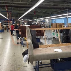 Photo Of Furniture Traditions   Humble, TX, United States. Production Line  FlexSteel Branson