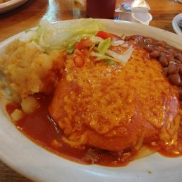 Photo Of El Patio De Albuquerque   Albuquerque, NM, United States. Beef  Enchiladas