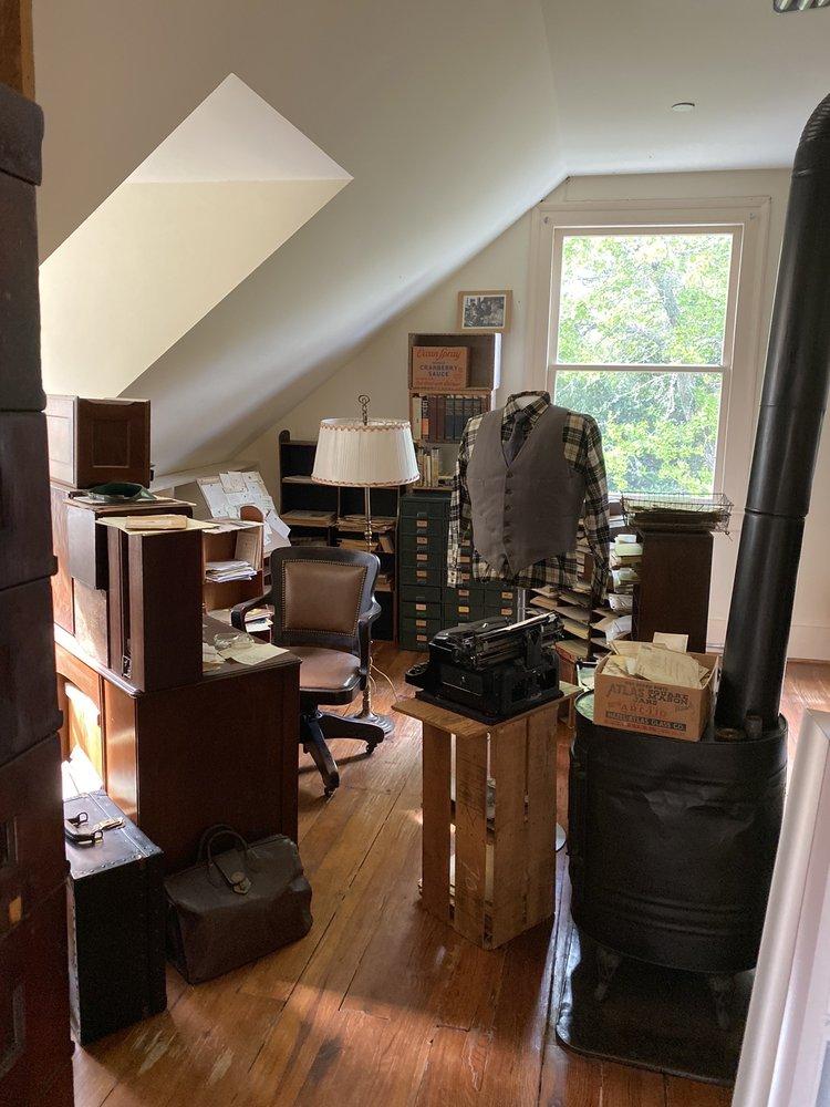 Carl Sandburg Home: 1800 Little River Rd, Flat Rock, NC
