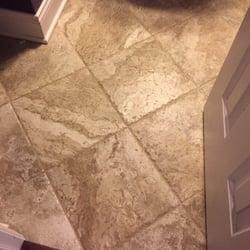 Photo Of Signature Flooring Inc   Mebane, NC, United States. Bathroom Tile!