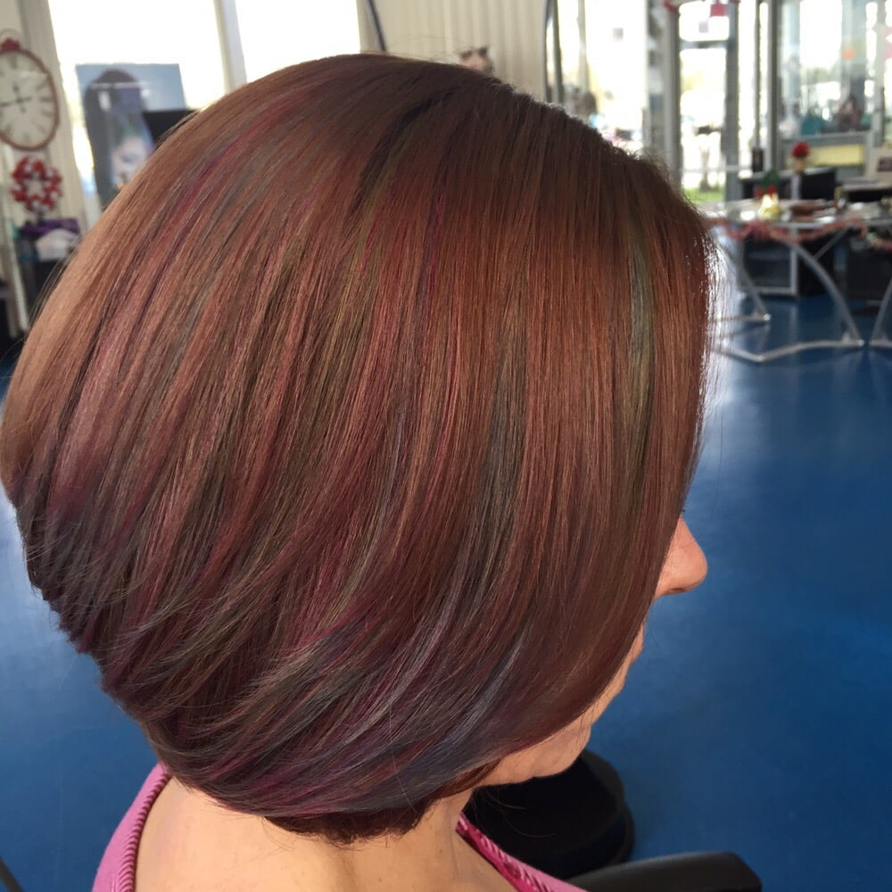 advanced hair styles hair color w blue highlights haircut amp style yelp 8569 | o
