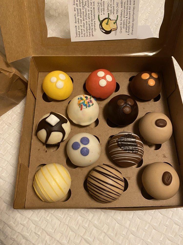 Toadstool Cupcakes: 3557 SE Hawthorne Blvd, Portland, OR