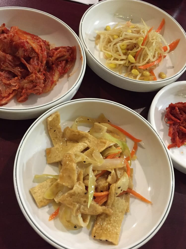 Chez hwang 48 foto cucina coreana notre dame de for Cucina coreana