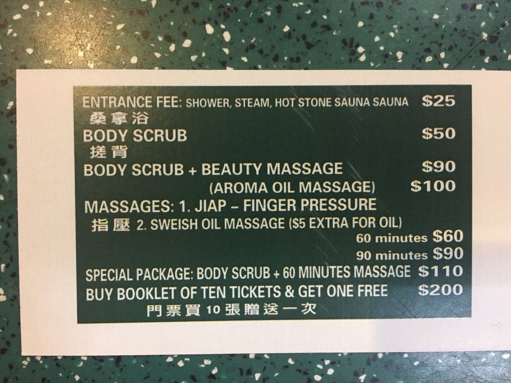 Fountain of Youth Health Spa: 3202 Linden Pl, Flushing, NY