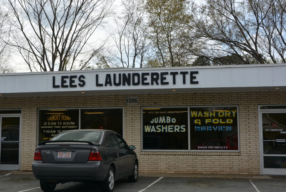 Lee's Launderette: 1256 Old Charlotte Rd SW, Concord, NC
