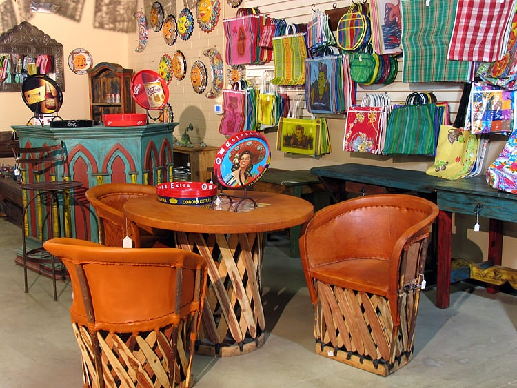 Photo Of Borderlands Trading Company   Tucson, AZ, United States. Authentic  Mexican Equipale