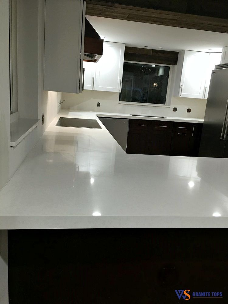 Photo Of WS Granite Tops   Deerfield Beach, FL, United States. Kitchen  Countertops