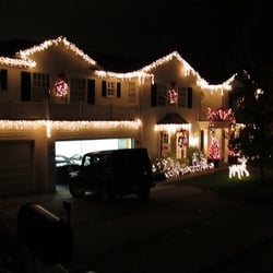 Photo Of Holiday Outdoor Lights   Los Angeles, CA, United States. Hloliday  Lighting